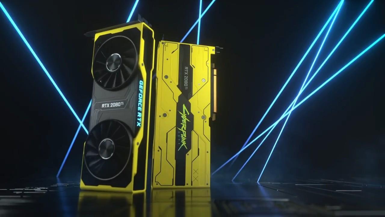 《赛博朋克2077》版GeForce RTX 2080 Ti显卡公开