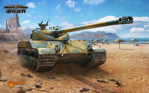 坦克世界中坦是团队之宝 全因视野与机动
