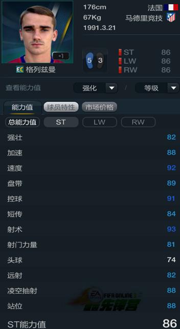FIFA Online3 十大受欢迎度最高的球员卡(下)