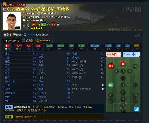 FIFAOL3 威武红魔曼联套LP卡球员推荐(上)