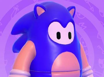 《糖豆人:終極淘汰賽》10月14日推出索尼克外觀