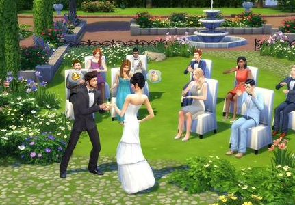 《模拟人生4》MOD让市民提前玩上《赛博朋克2077》