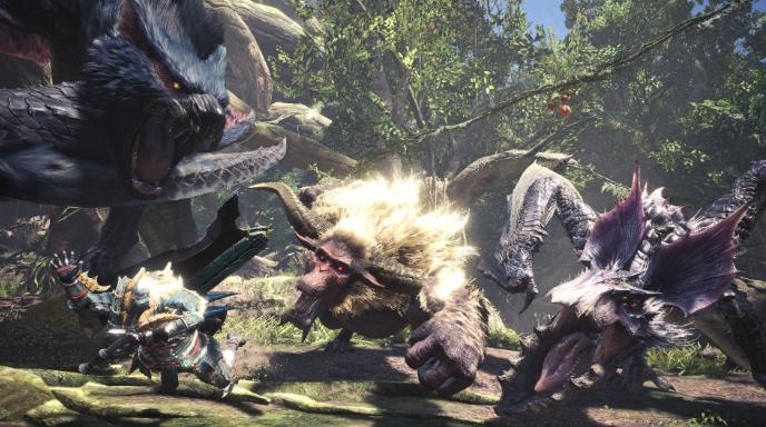 《怪物猎人:世界》销量:除日本外PC销量超过