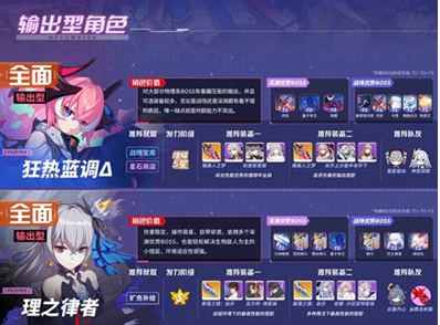 崩坏3女武神排名 最新角色强度排行图