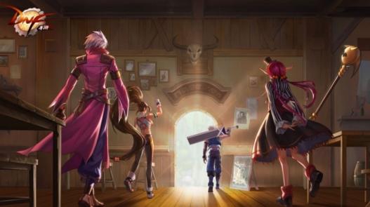 《地下城与勇士M》六大平台赛开战 手游定档暑假上线