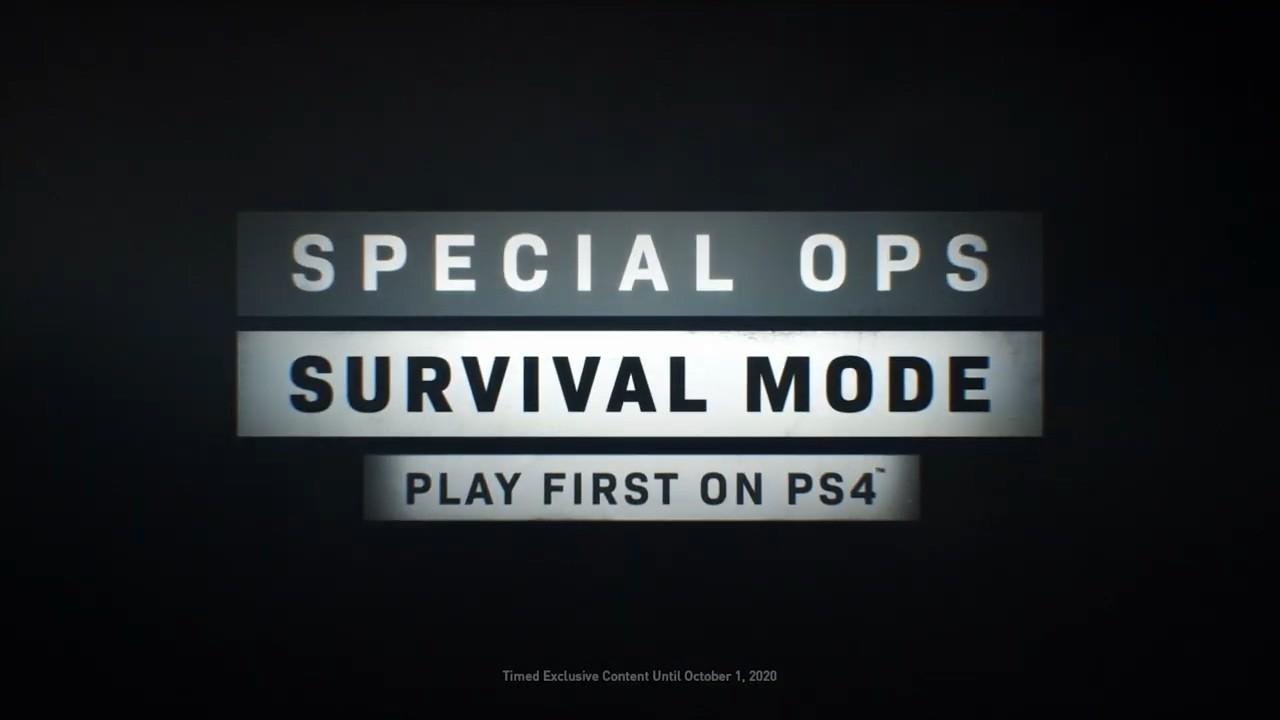 《COD:现代战争》新预告公布 部分玩法将在PS4独
