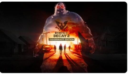 《腐烂国度2:主宰版》登陆Epic 可跨平台游戏