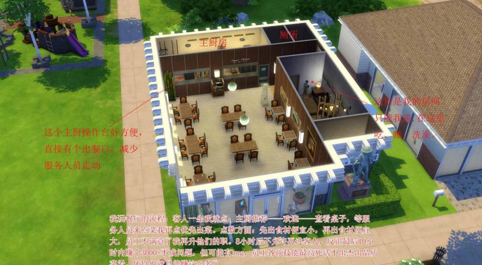 模拟人生4开餐厅技巧分享攻略