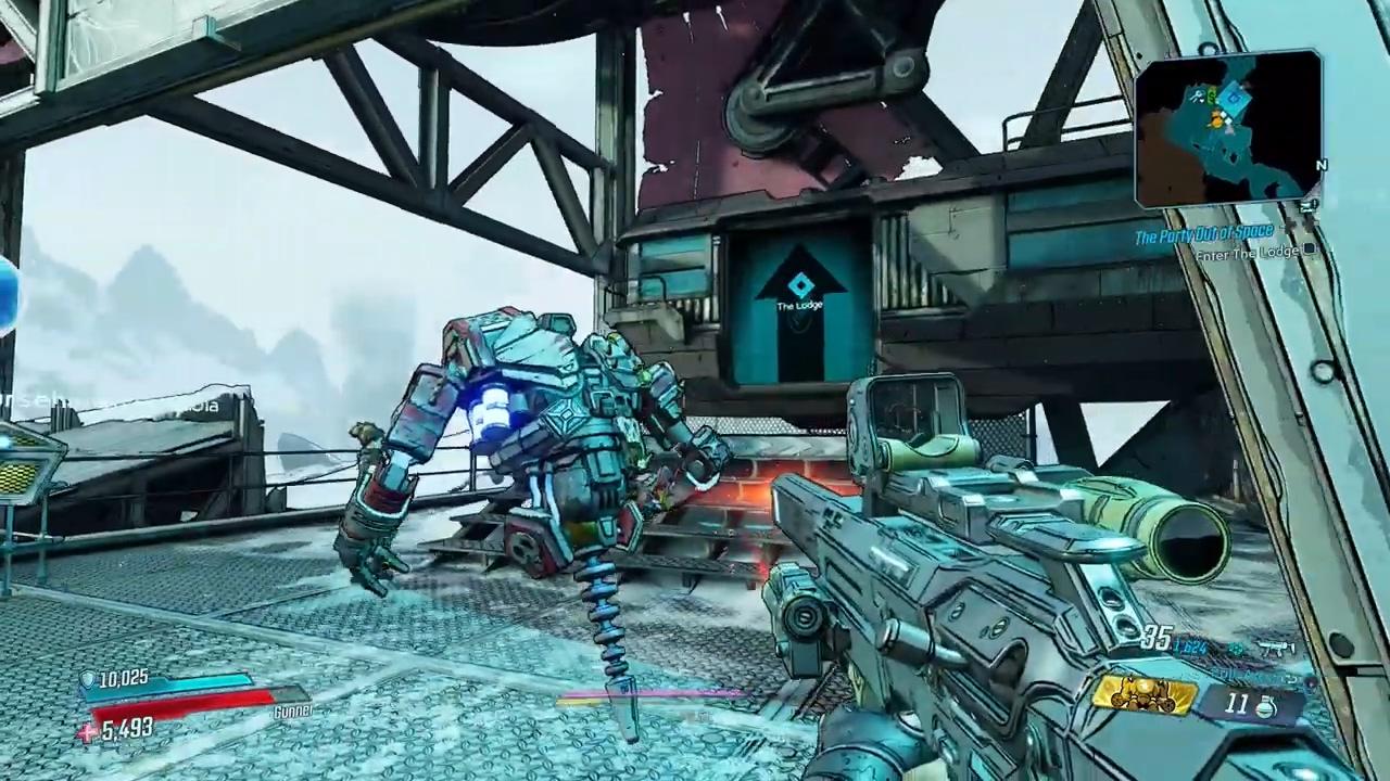 《无主之地3》第二部婚礼大作战DLC实机演示