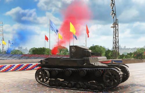 坦克世界专业抽奖安慰奖 美系T1E6简易攻略