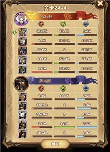 剑与远征24-4阵容搭配攻略