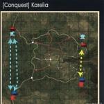 战争雷霆陆战地图Karelia(卡累利阿)怎么玩?