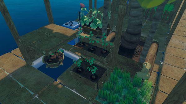 木筏生存洒水器建造及作用说明