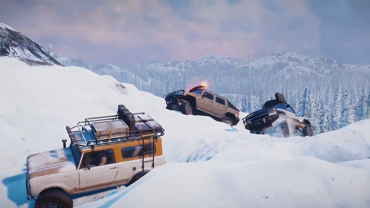 《雪地奔驰》全新宣传视频 险峻荒野中探索