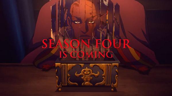 网飞:《恶魔城》动画已续订第四季