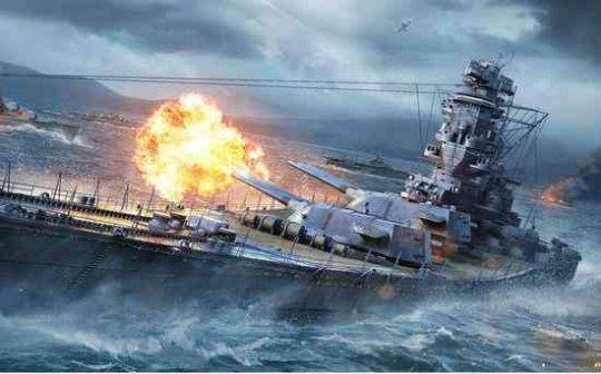 战舰世界战斗地图