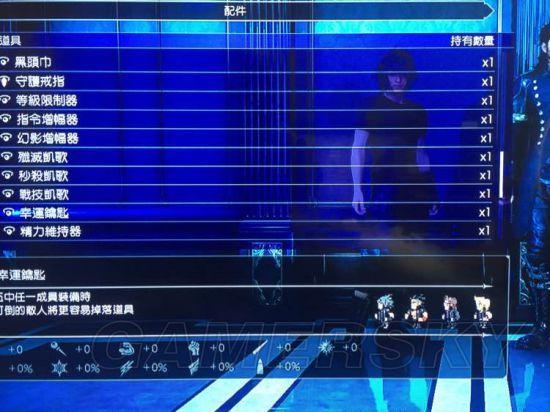 《最终幻想15》假日包DLC新增物品介绍