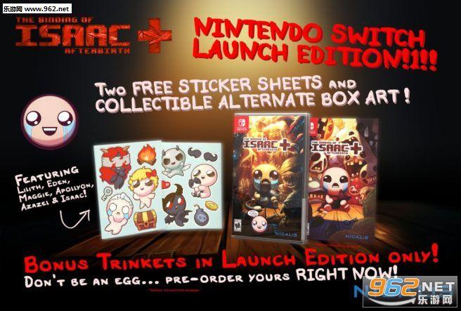 《以撒的结合》Switch版降价 亚马逊售价35美元