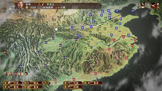 《三国志13》208赤壁之战刘备最简单打法