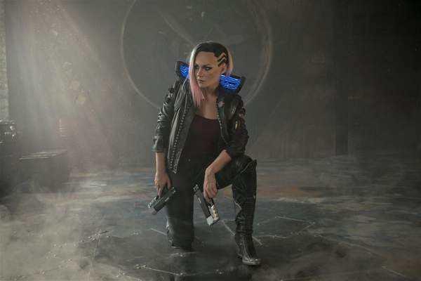 赛博朋克2077BOSS战演示及战斗系统试玩视频