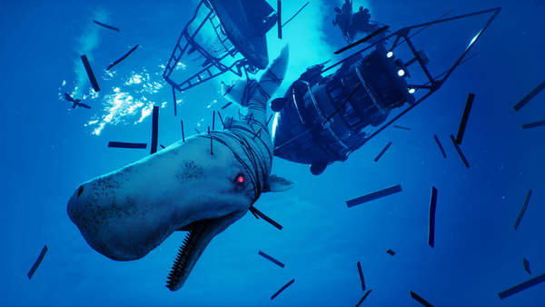 力图还原深海景色《食人鲨》场景截图公布