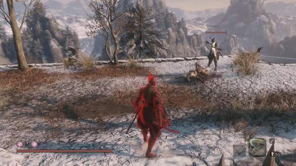 《只狼》多人模式MOD演示 最多支持6名玩家