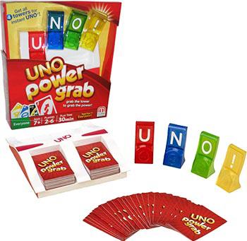 《一起优诺》又一新玩法?Uno Power Grab神力抢夺战