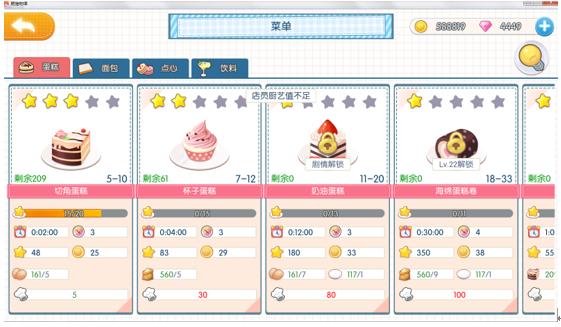 《萌猫物语》厨艺大提升甜品精通不是梦
