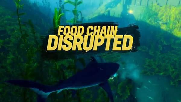 《食人鲨》发售预告 扮演可怕鲨鱼向人类复仇