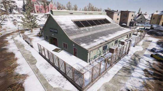 《绝地求生》雪地地图建筑介绍