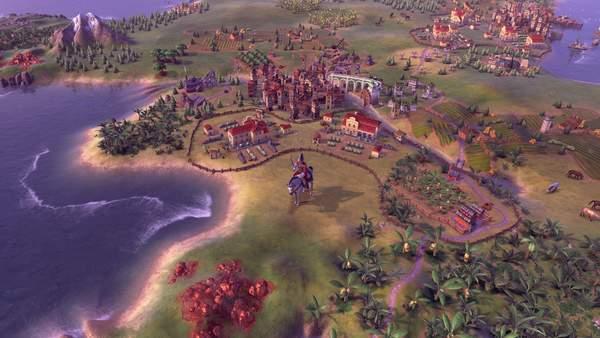 Steam周销量排行榜《文明6:新纪元季票》登顶榜