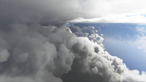 《微软飞行模拟》新实机演示 云彩和天气效果展
