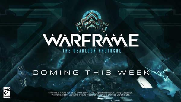 """《星际战甲》最新DLC""""死锁协议""""本周登陆PC平台"""