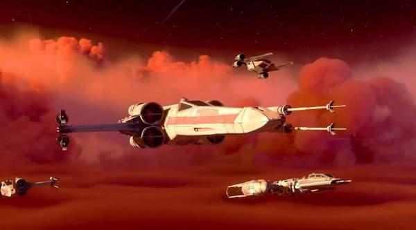 《星球大战:战机中队》新预告 游戏战役模式玩