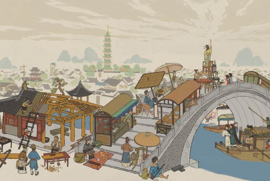 江南百景图全服赢取10个金画轴活动进行中