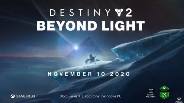 科幻电影FPS《命运2》凌光之刻DLC新预告示出