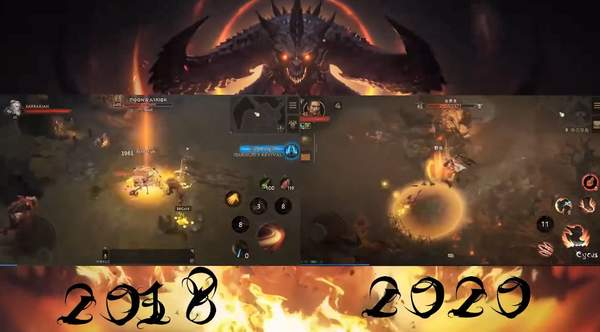 《暗黑破坏神:不朽》 2018年vs2020年建模对比