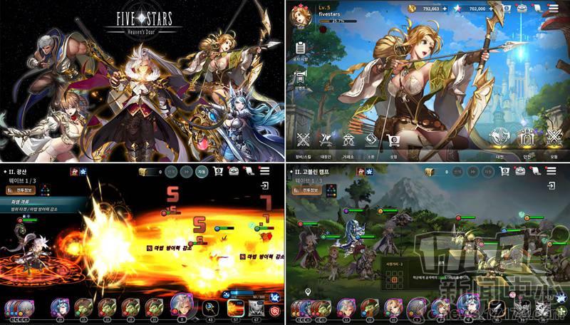 韩国游戏开发公司Skypeople三款新作讯息公开