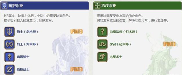 最终幻想14什么职业最吃香,最终幻想14初上手职业选择指南