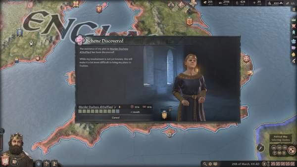 《十字军之王3》新实机演示 各种计谋运用介绍