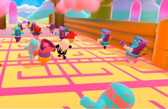 《糖豆人:终极淘汰赛》评测,玩着玩着,食欲来