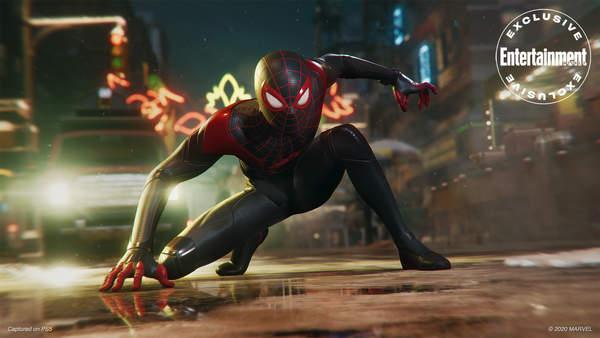 《蜘蛛侠:迈尔斯》光追截图放出 见证英雄的成长