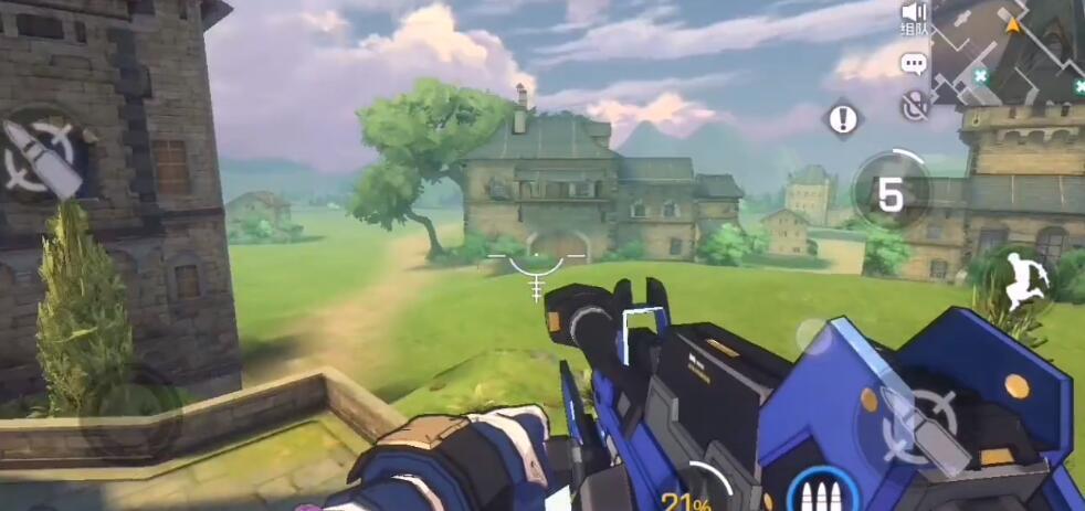 王牌战士洛林庄园地图怎么打 场景与战术分享