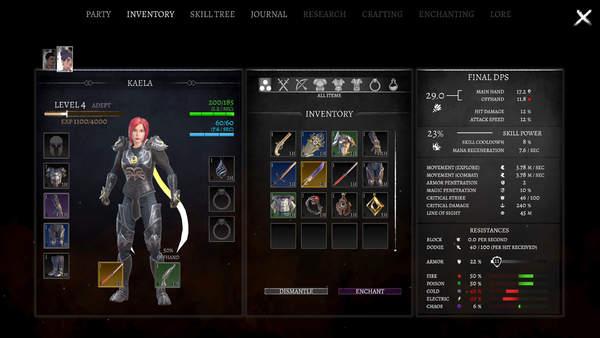 策略RPG《暗使》新实机演示公布 游戏跳票2021年