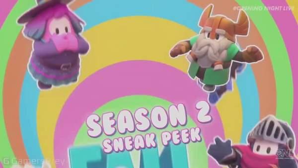 《糖豆人:终极淘汰赛》第二季宣传片公布 10月