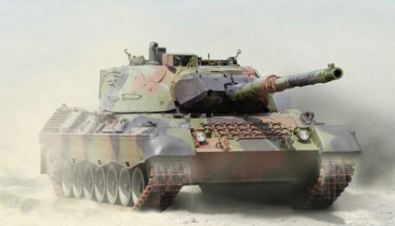 坦克世界Leopard 1暗影突袭介绍
