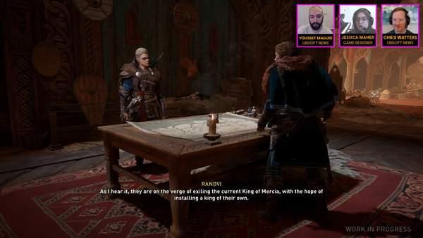 《刺客信条:英灵殿》实机演示 游戏玩法和设计