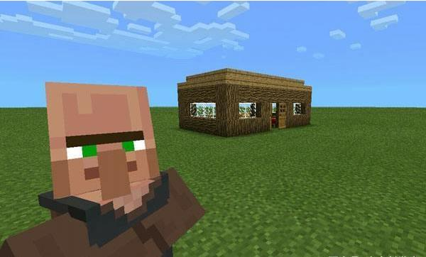 我的世界:村民会自己找村庄?村民介绍