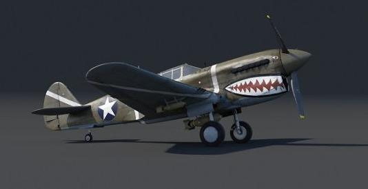 战争雷霆寇蒂斯P-40F介绍