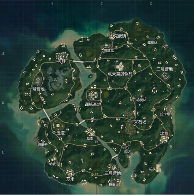 和平精英雨林地图打法套路详解